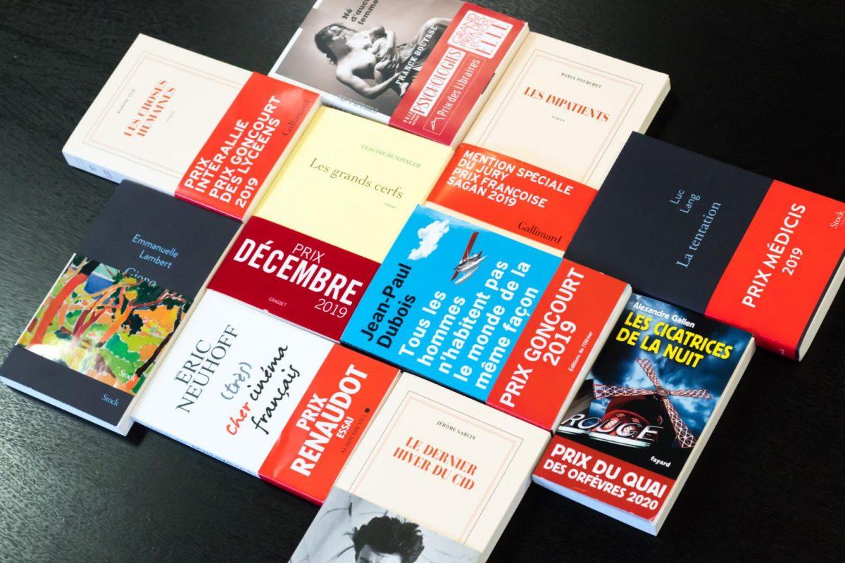 CPI imprime les prix littéraires - livres Goncourt Renaudot