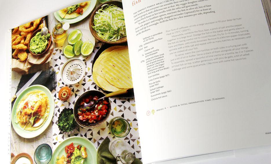 imprimer livre recettes de cuisine couleur photo