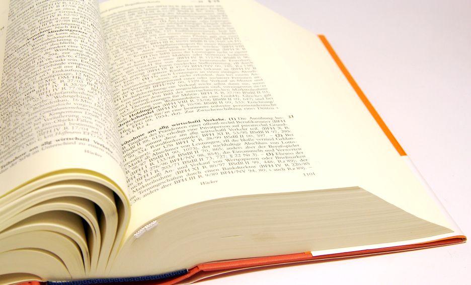 Imprimerie dictionnaire papier fin