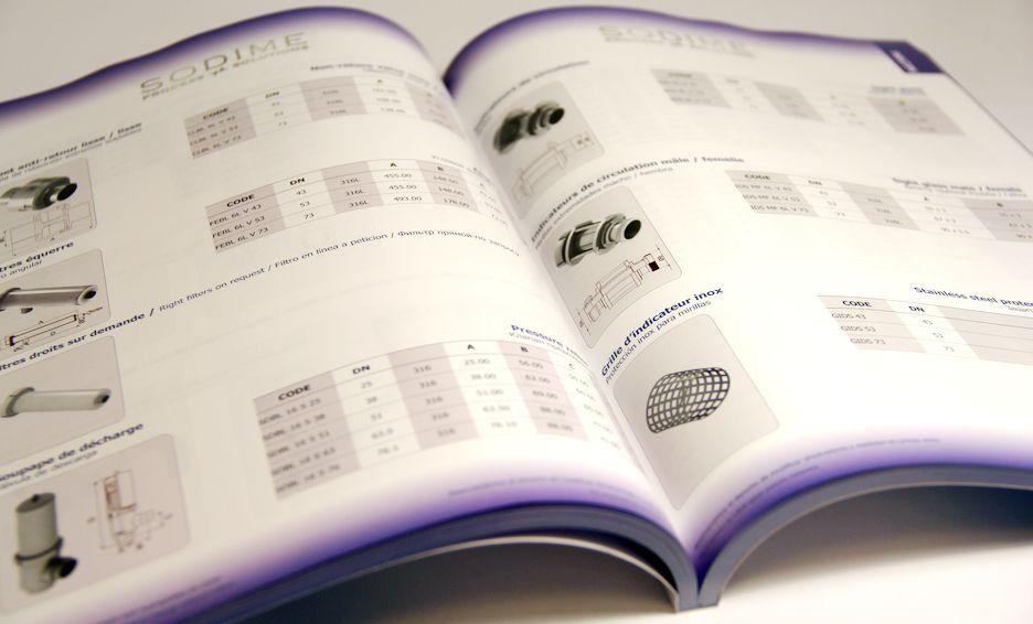imprimer catalogue couleur