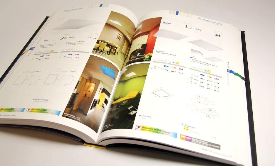 Impression catalogues couleur