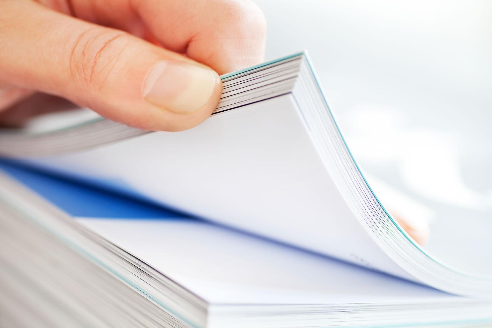 Solutions d'impression catalogues industrielles