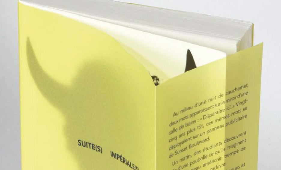 Imprimer livre broché couverture transparente