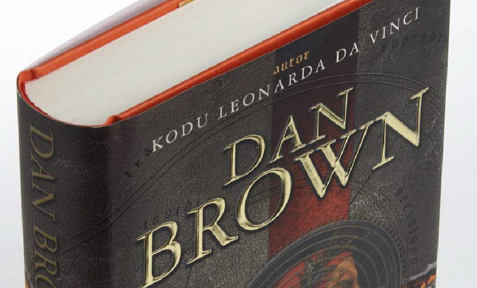 Livre Dan Brown relié
