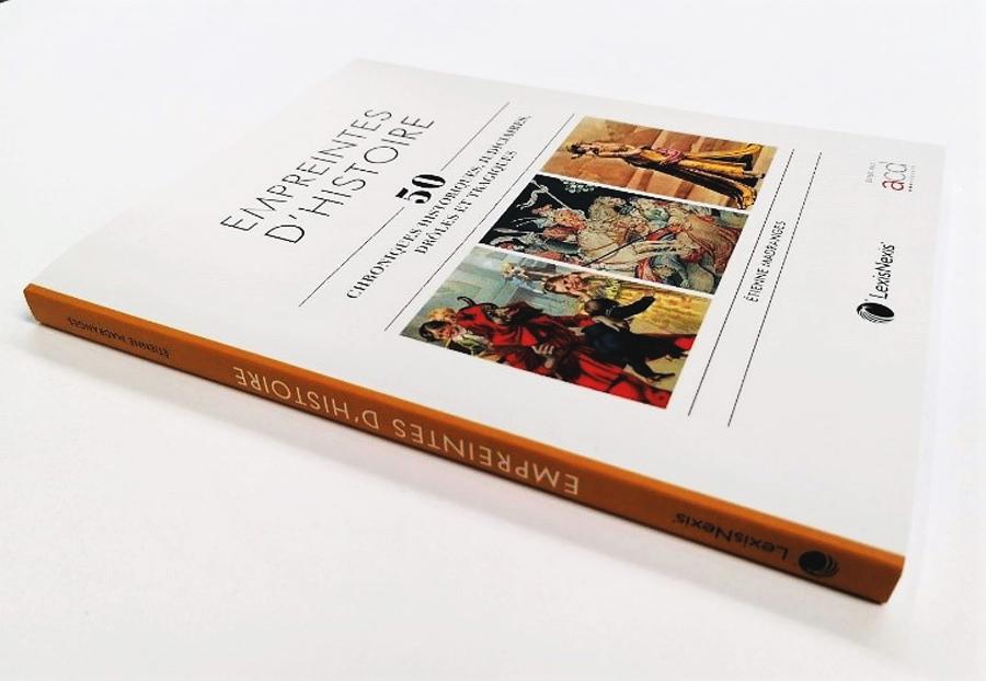 Nous imprimons le Livre Empreintes d'histoire imprimé